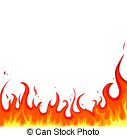 Flames clipart. Flame illustrations and clip image library stock