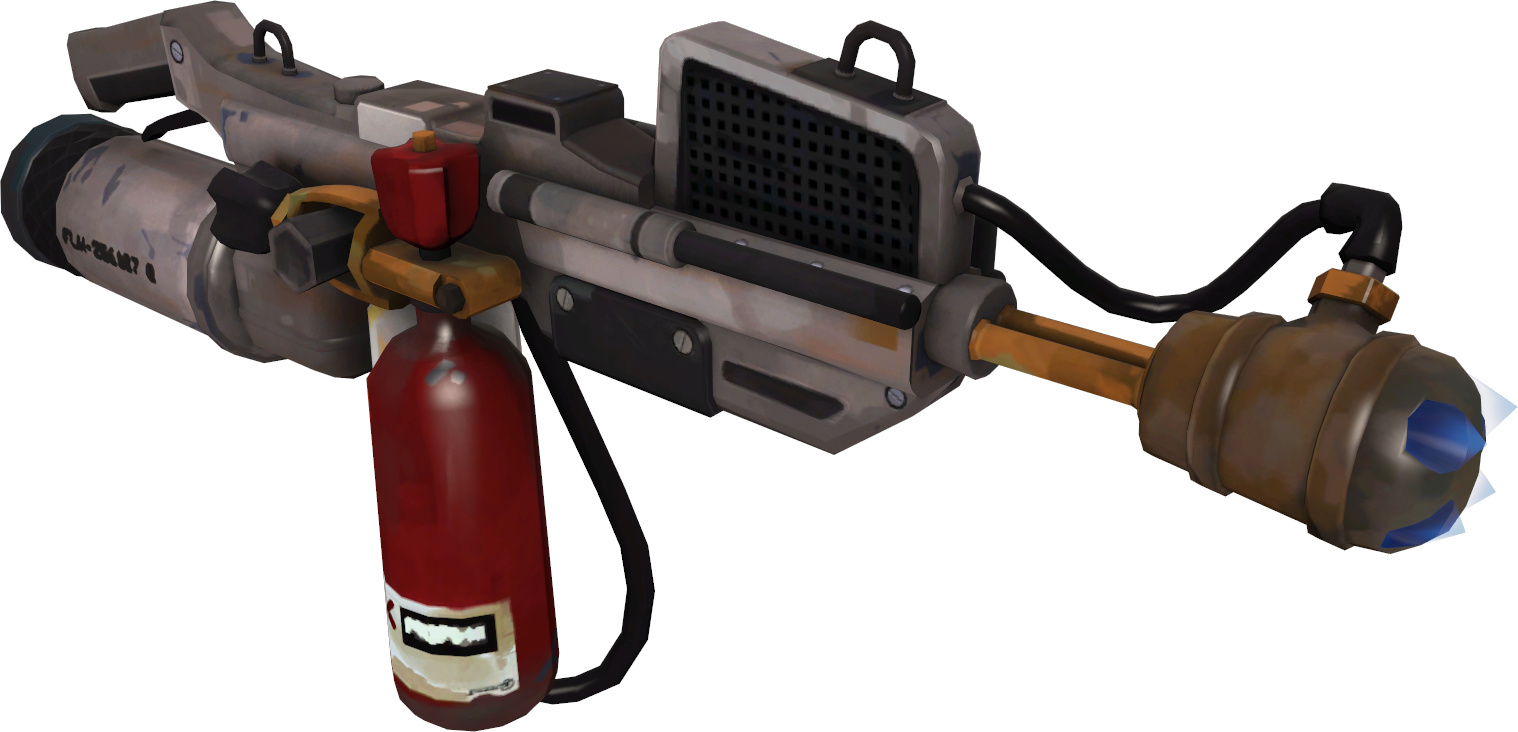 Category primary weapons team. Flamethrower transparent pyro clip royalty free download