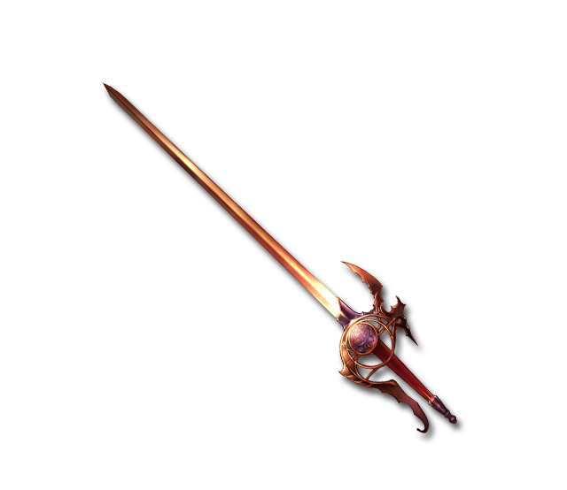 Flaming spear png. Image flame rapier granblue