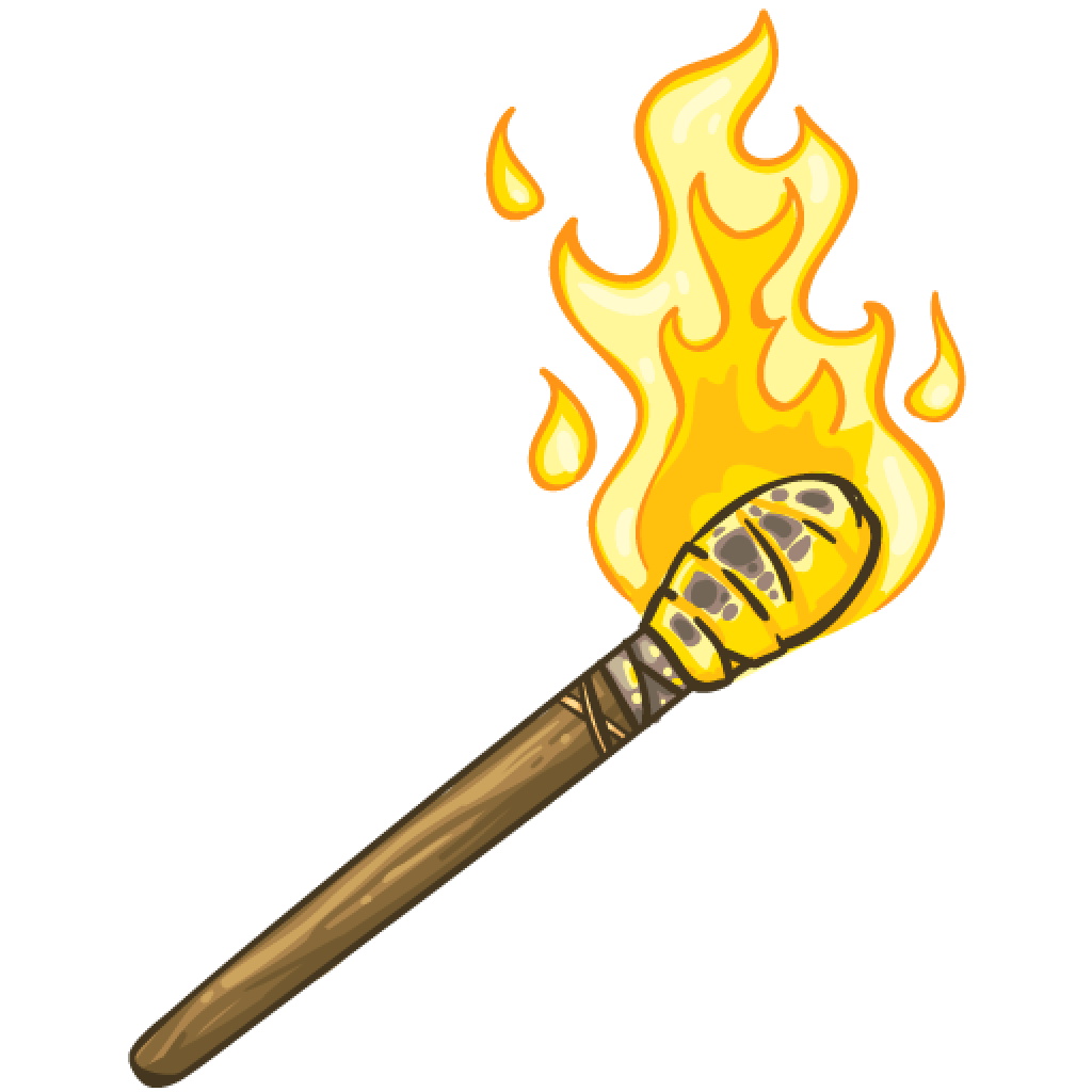 Item detail flaming itembrowser. Torch transparent graphic free library