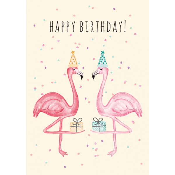 Flamingo clip happy. Birthday art pinterest birthdays