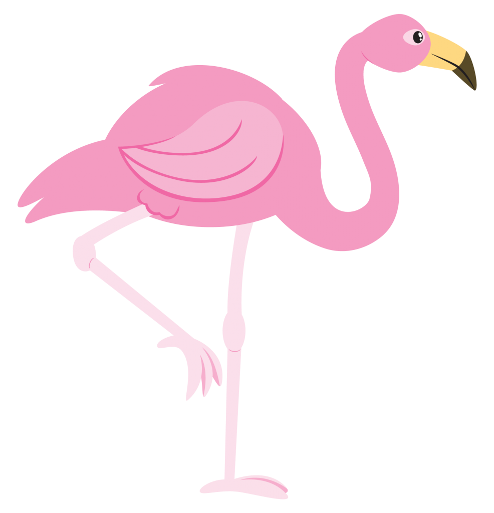 Flamingo clip public domain. Free to use amp