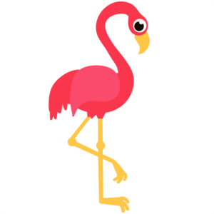 Flamingo clip vector. Pink free images at