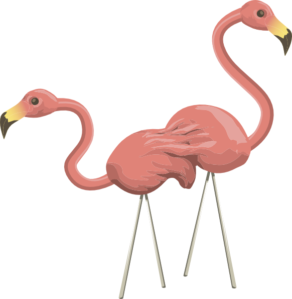Flamingo clipart float. Large frames illustrations hd