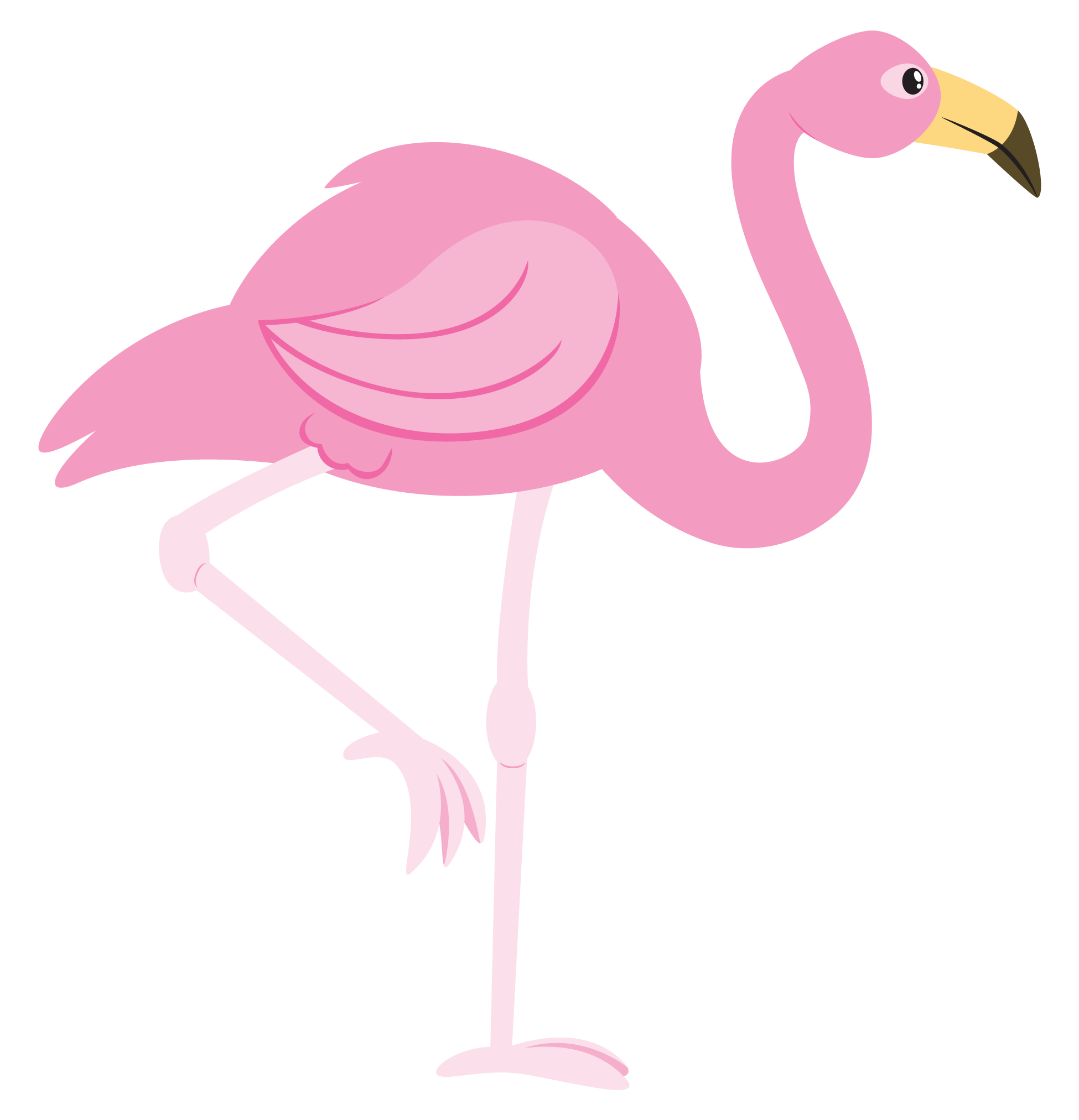 Flamingo clipart yard flamingo. Pink cartoon kid stuff