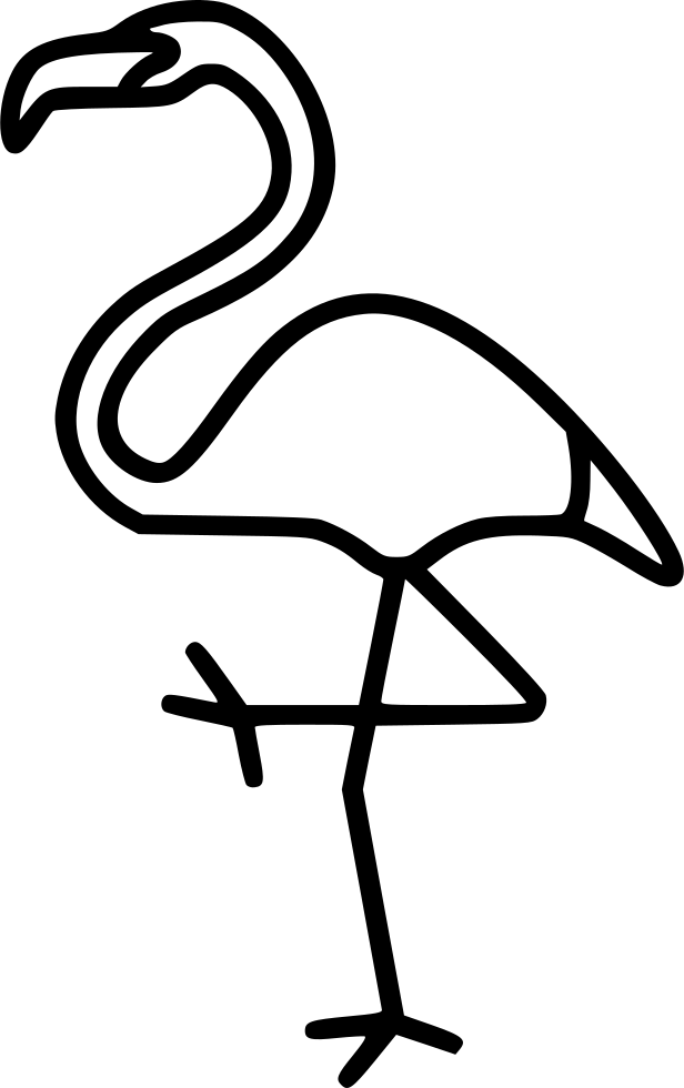Flamingo icon png. Svg free download onlinewebfonts