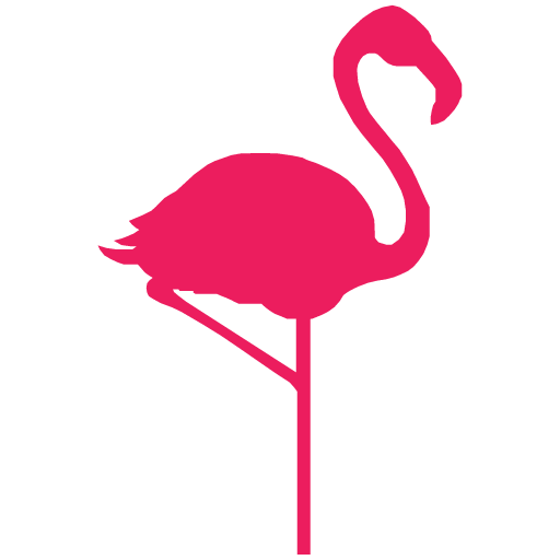 Flamingo icon png. Cropped hello croppedhelloflamingoiconpng