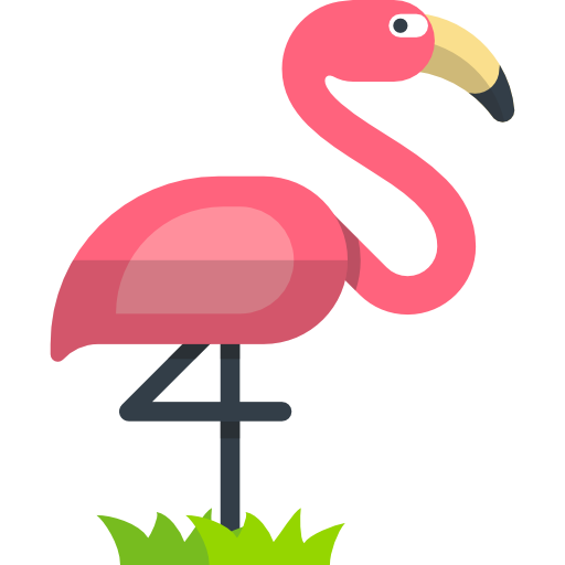 Flamingo icon png.