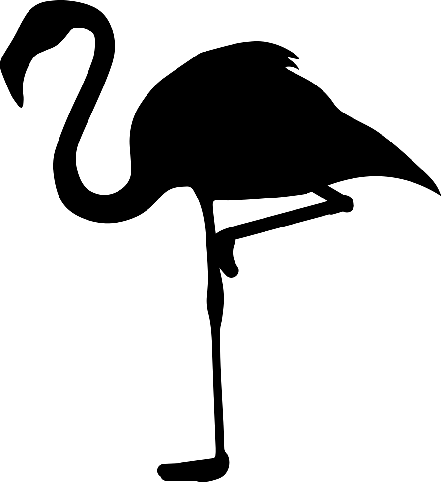 Flamingo silhouette png. Silhouettes pinterest cricut and