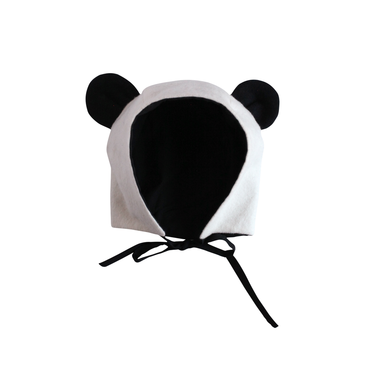 Panda ears png. Organic flannel hat spearmint