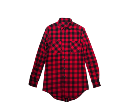 Flannel transparent red. Google search on the