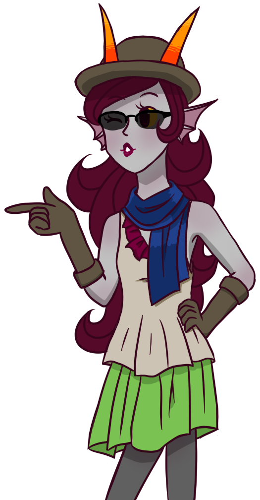 Flappers drawing animated. Flapper feferi by jujuarts