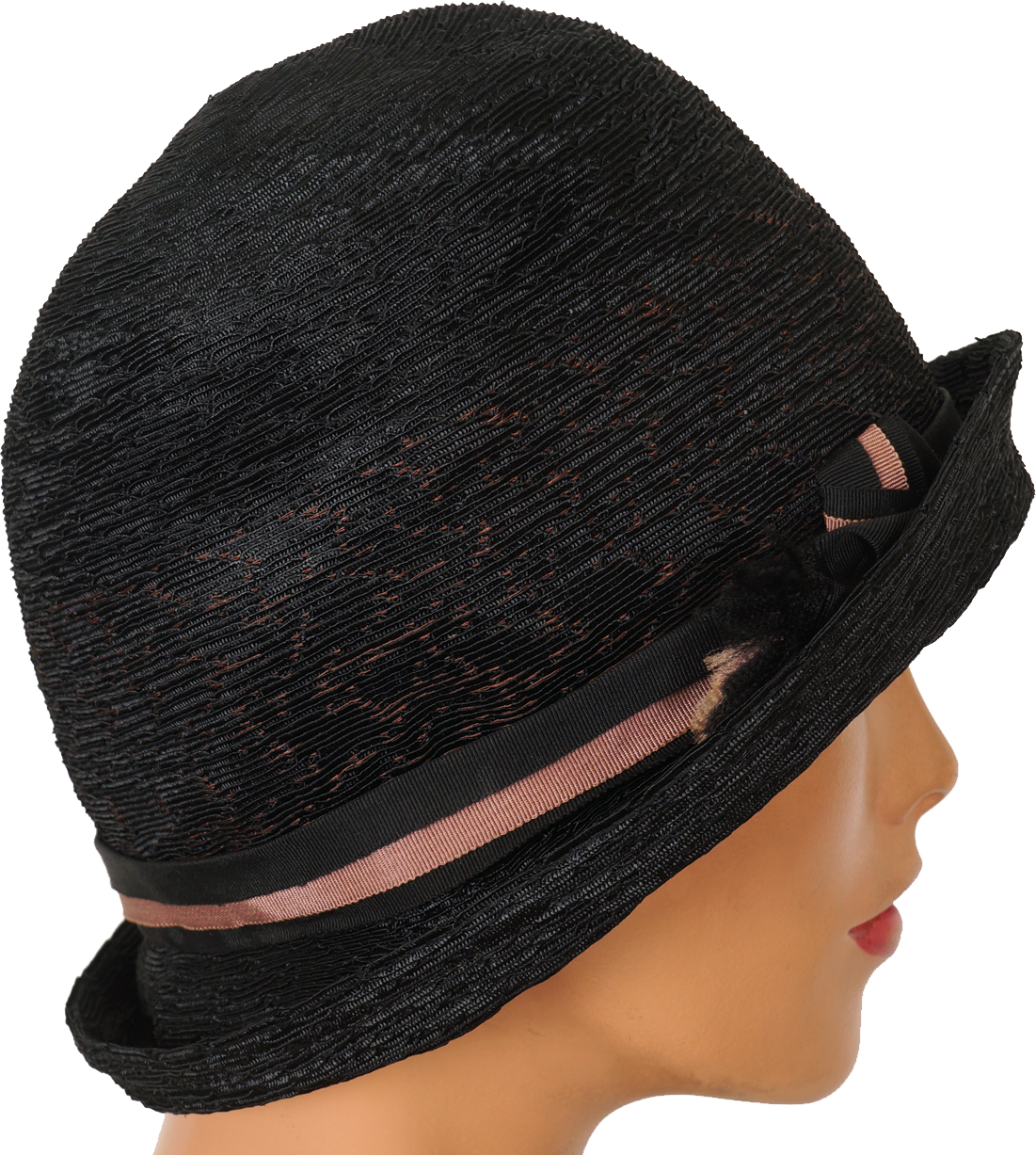 Flappers drawing cloche hat. S united hatters