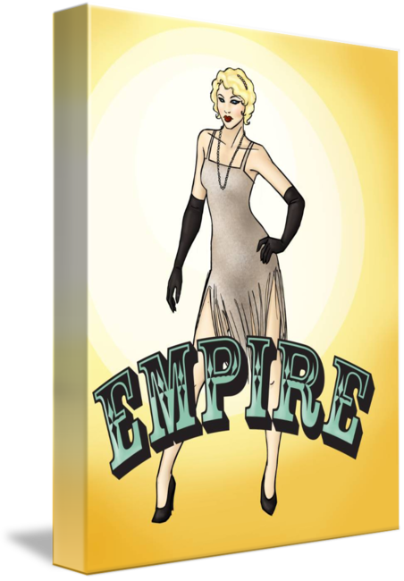 Flappers drawing gatsby. S flapper girl