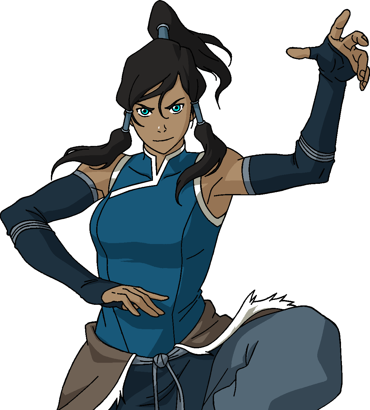 Flappers drawing korra. By steeven on deviantart