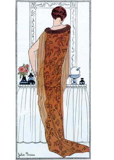 Flappers drawing 20 flapper. Tangerene hostess gown s