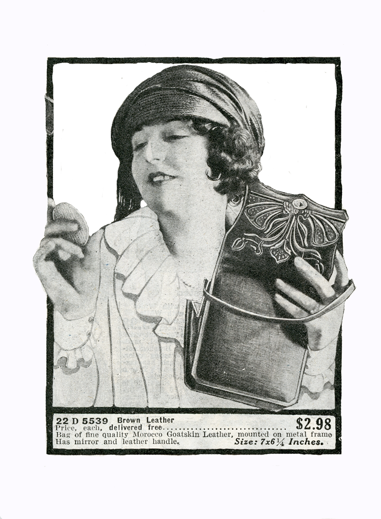 Flappers drawing smoking. Free graphic of a