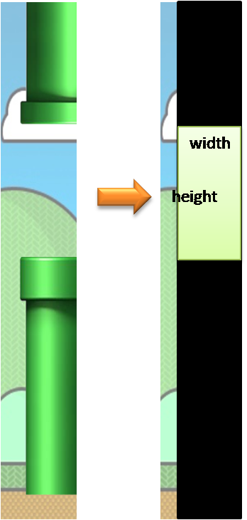 Flappy bird pipe png. Android gamify game algorithm