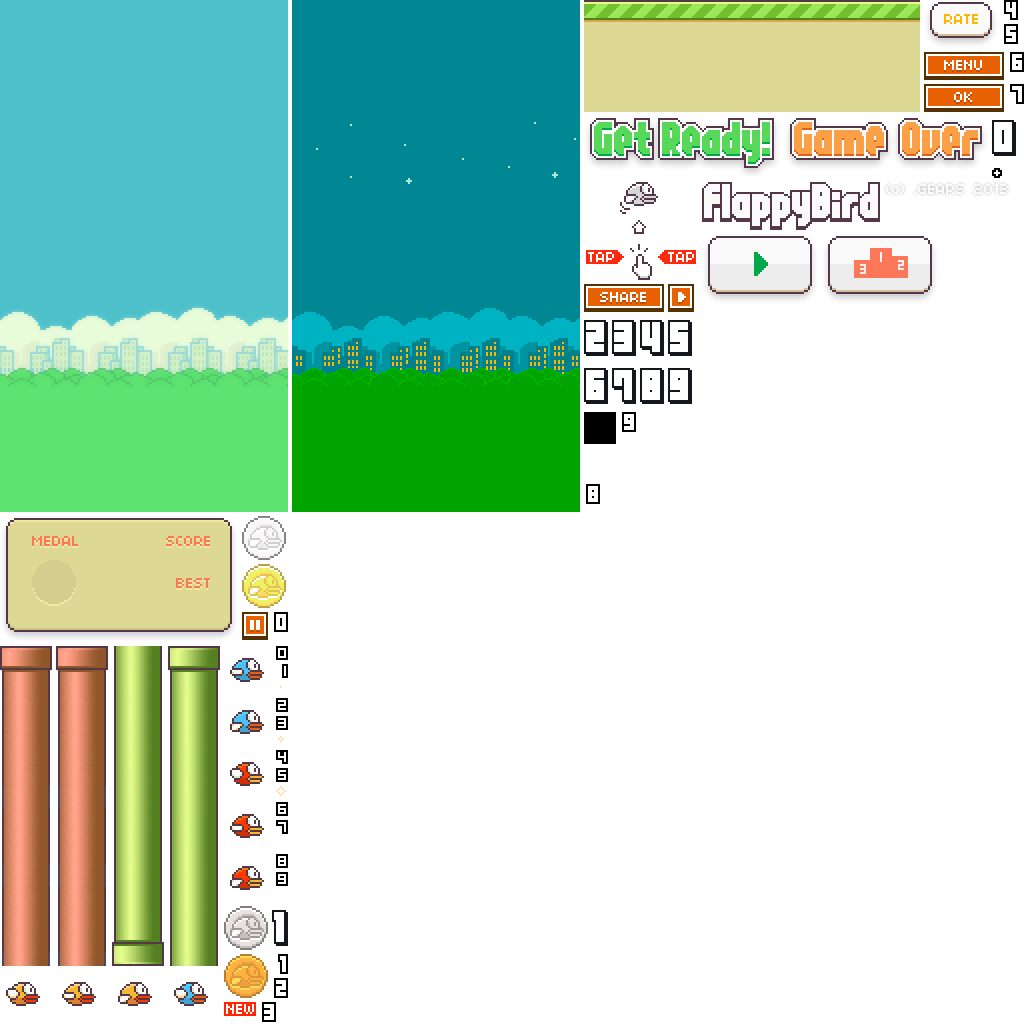 Flappy bird pipe png. Where can i see