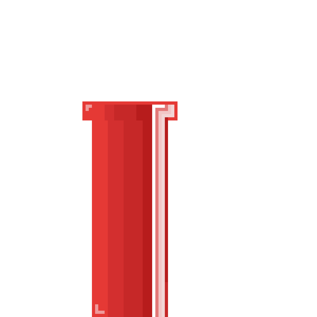 Flappy bird pipes png. Pixilart red pipe by