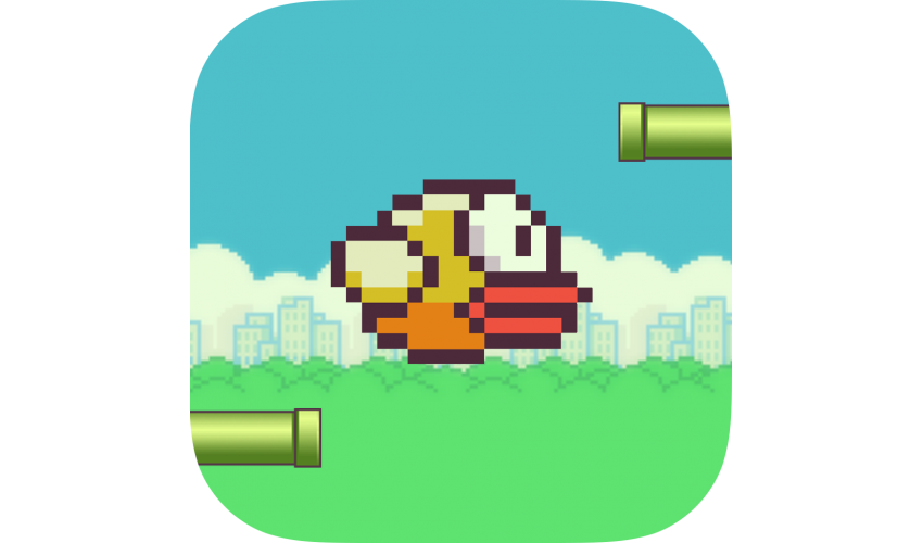 Flappy bird png.