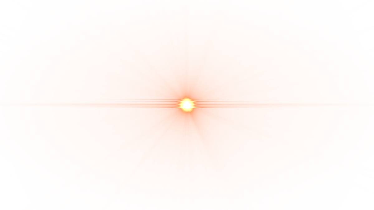 Flare png. Front yellow lens image