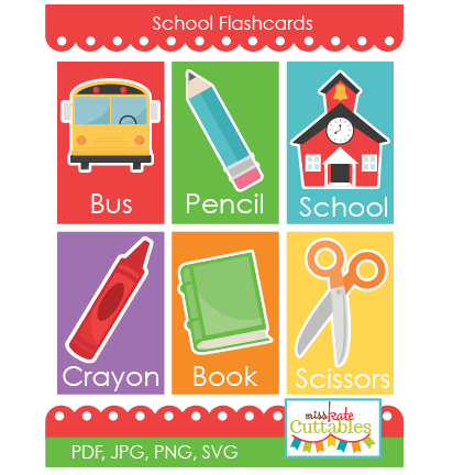 Flash cards png. School flashcards printables svg jpg free library