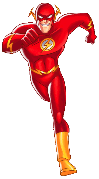 Flash cartoon png. Image justice league the