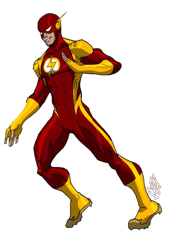 Flash cartoon png. Redesign by mase ne