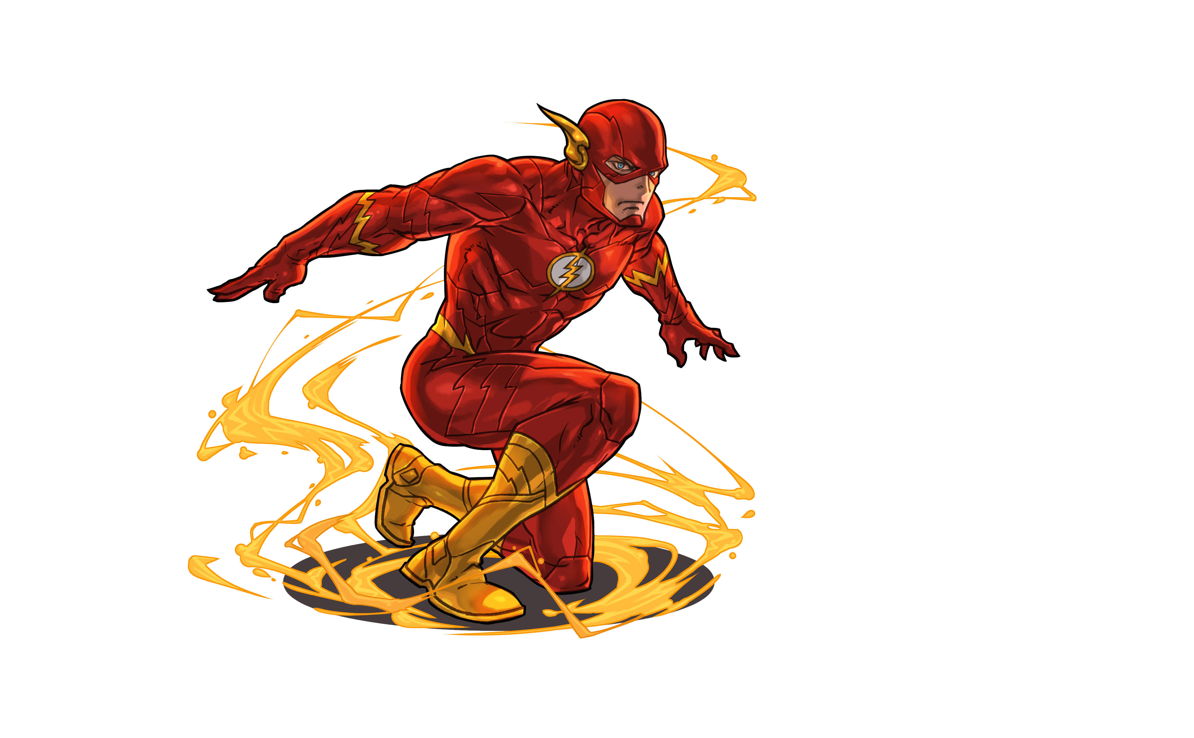 Flash cartoon png. The images a superhero