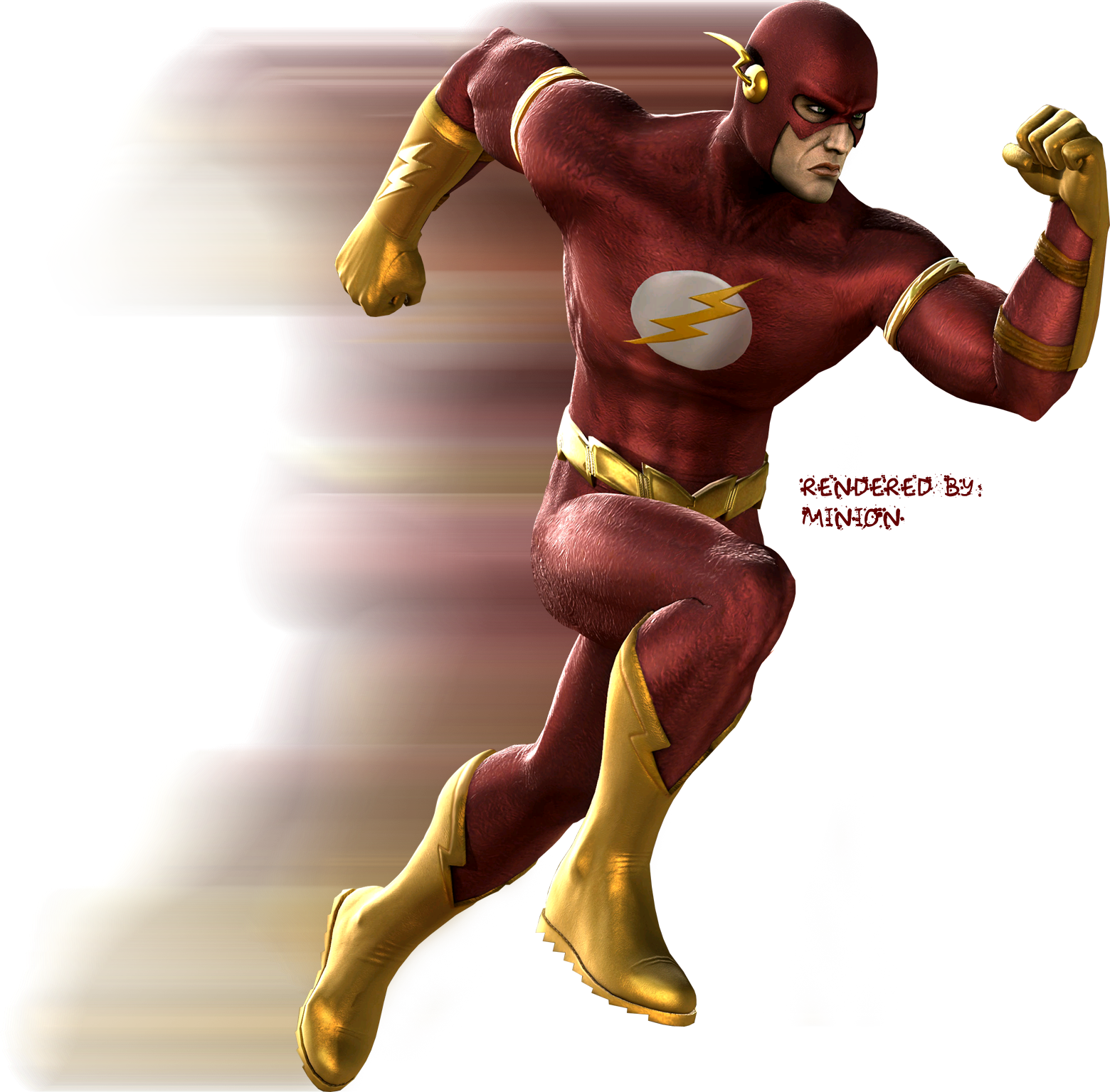 Flash cartoon png. Image rocksteady game default