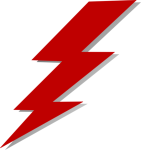 Lightning bolt clipart the flash. Clip art at clker
