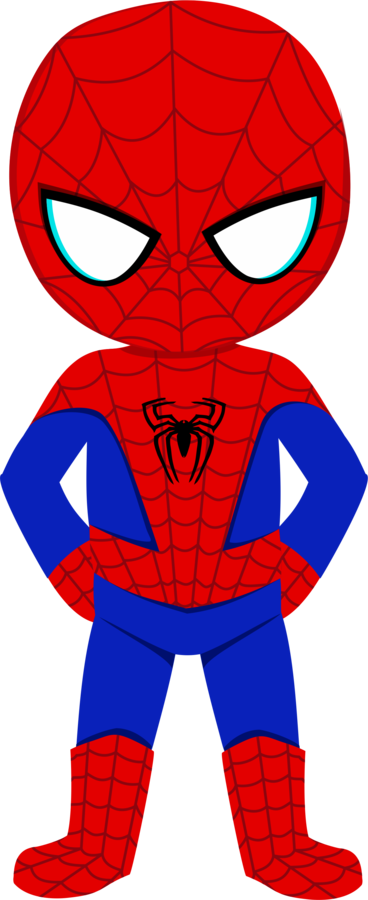 Luh happy s profile. Spiderman clip clipart royalty free stock