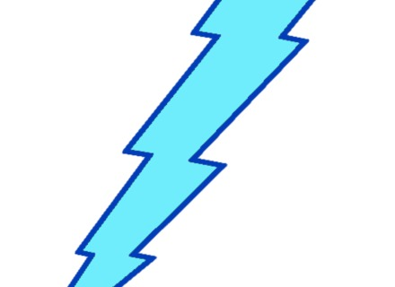 Lightning clipart electric sign. Thunder and at getdrawings