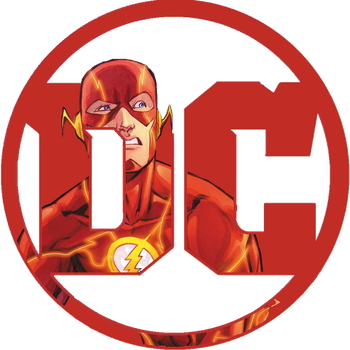 Drawing marvel flash. Dc logo for by