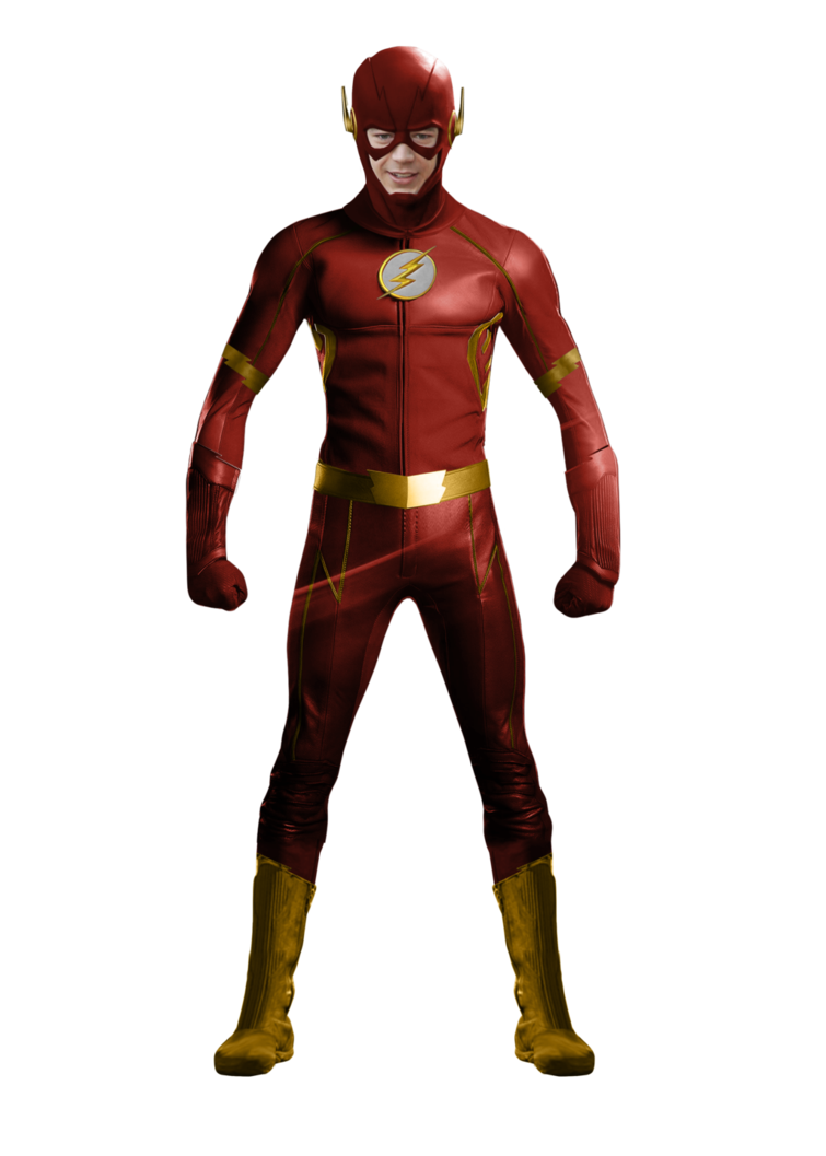 Flash cw png. Suit concept update by