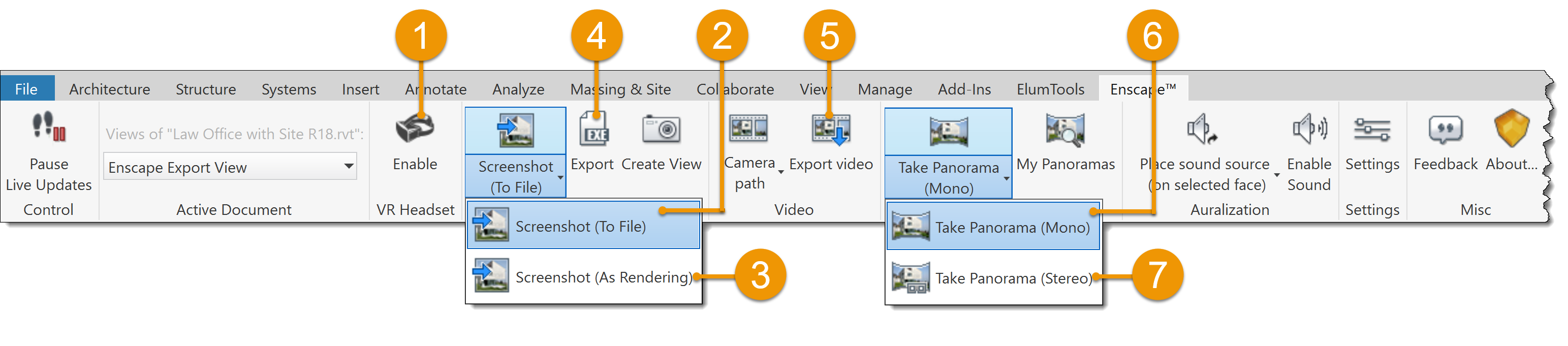 Flash export png sequence. Options in enscape listed