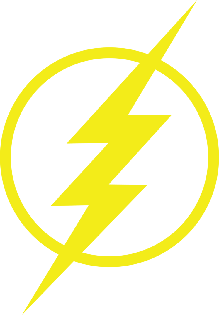 Flash logo png. The by thulung on