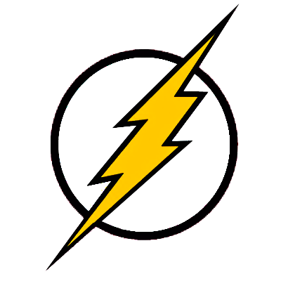 The flash logo png