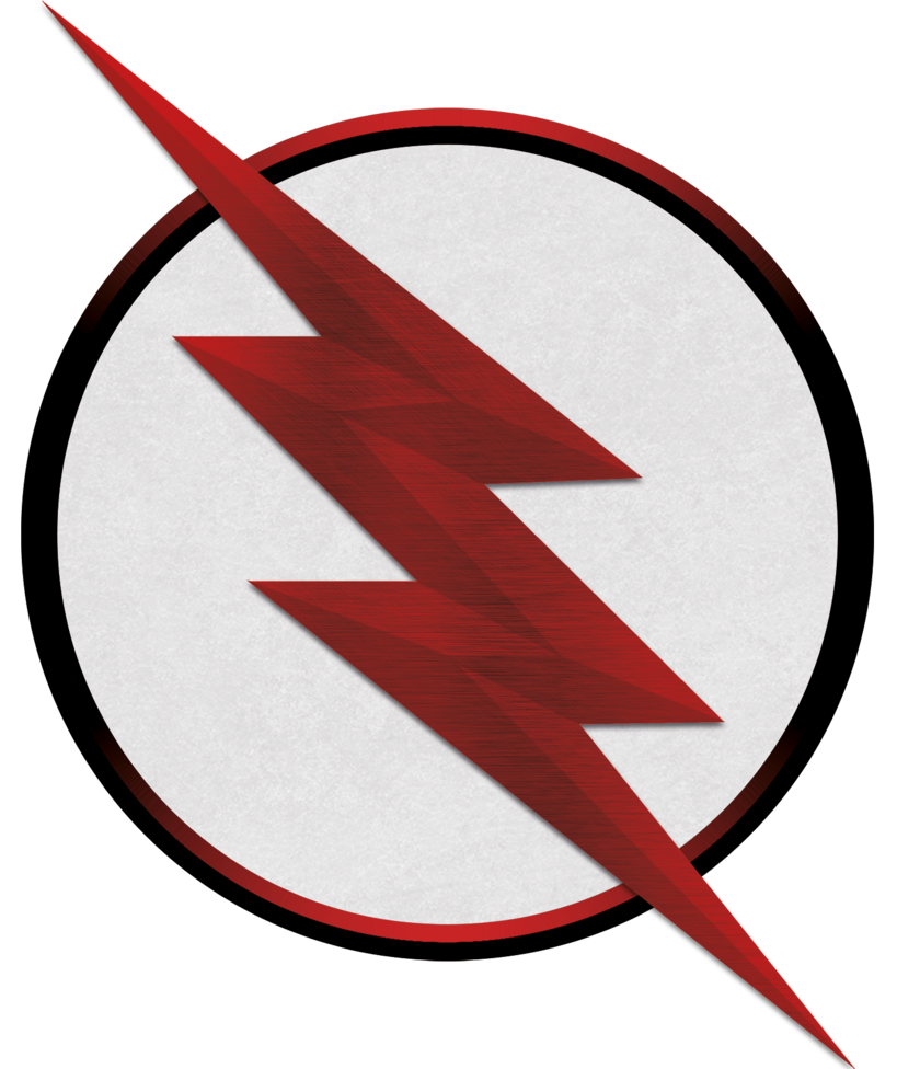 Transparent flash symbol black. Logo by deathdarkex on