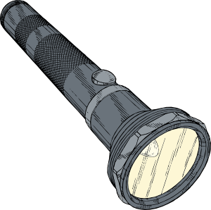 flashlight transparent gif