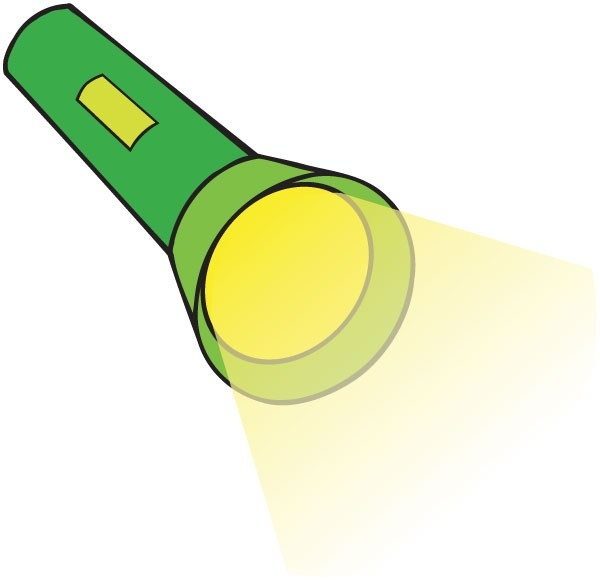 Flashlight clipart flashlight beam. Animehana com clip art