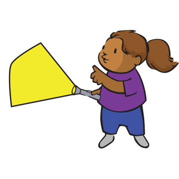 Flashlight clipart kid. Let your light shine