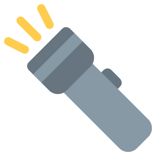Flashlight clipart vector. Free icon png download