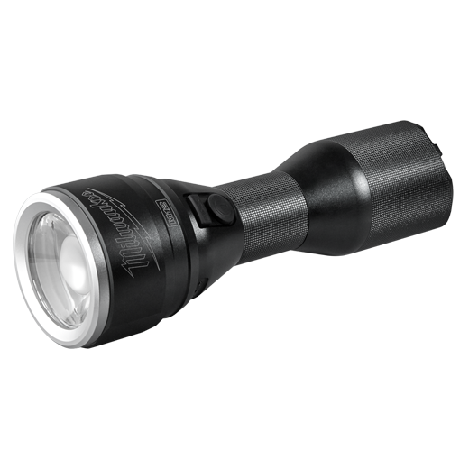 Flashlight transparent metal. Milwaukee m mled led
