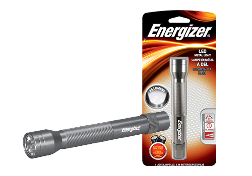 Flashlight transparent metal. Led flashlights energizer penlight