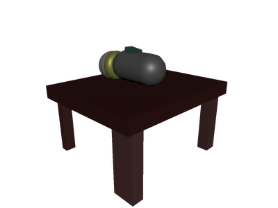 Flashlight transparent table. D models for free