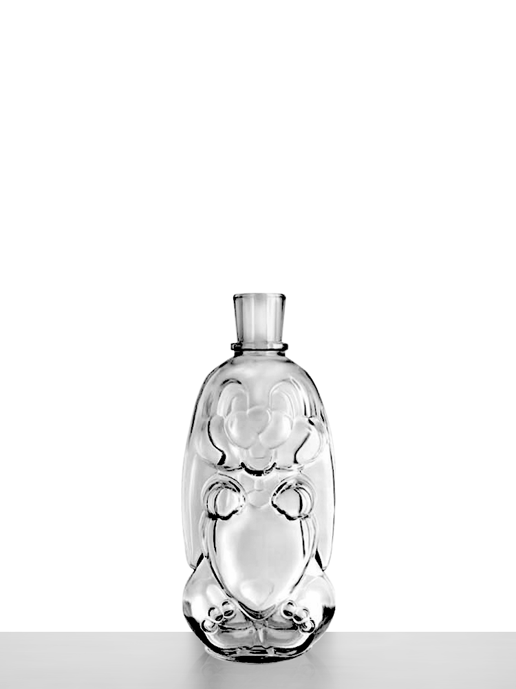 Flask drawing glass. Portfolio archive page of