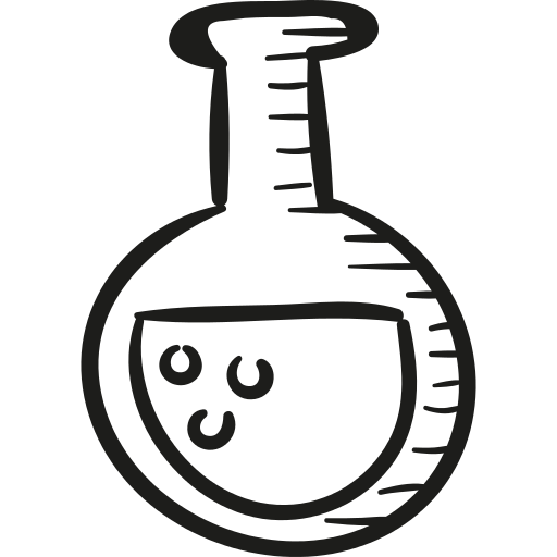 Flask drawing svg. Full draw png icon