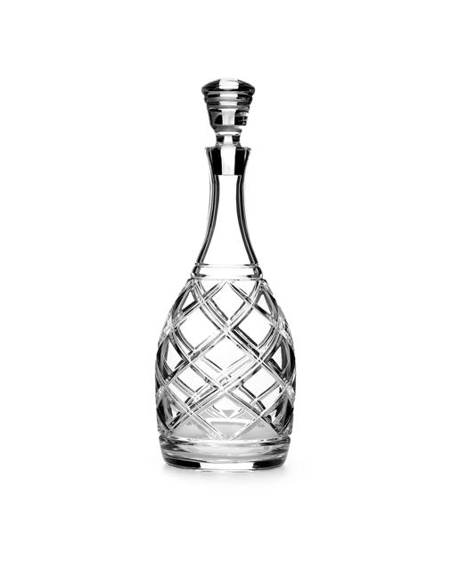 Flask drawing still life with. Brogan crystal decanter